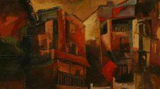 3-CASAS óleo sobre lienzo 92x73