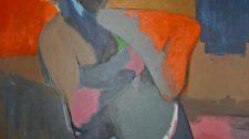 MOHICANO. Óleo sobre lienzo 89X116cm